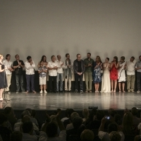 Crew of the film A STRANGER, Competition Programme - Feature Film, National Theatre, 2013, © Obala Art Centar