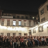 Audience, Kinoscope Programme, Film THE CONGRESS, Open Air Vatrogasac, Sarajevo, 2013, © Obala Art Centar