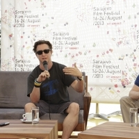 Coffee with ... Programme, Actor Emile Hirsch and Director David Gordon Green, Festival Square, 2013, © Obala Art Centar