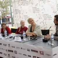 Crew of the film TALEA, Press Conference, Competition Programm Festure Film, Festival Square, 2013, © Obala Art Centar
