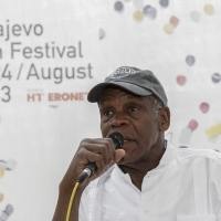 Coffe with ..., Actor Danny Glover, Katrin Cartlidge Foudation, Festival Square, 2013, © Obala Art Centar