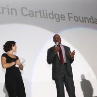 Katrin Cartlidge Foundation Award Ceremoy, !hej Open Air Cinema, Danny Glover, 19th Sarajevo Film Festival, 2013, © Obala Art Centar