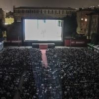 Open Air Programme, !hej Open Air Cinema, 19th Sarajevo Film Festival, 2013, © Obala Art Centar