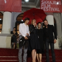 Competition Programme Short Programme Jury, Red Carpet, 19th Sarajevo Film Festival, 2013, © Obala Art Centar