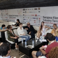 Open Sessions, Industry Terrace, 19th Sarajevo Film Festival, 2013, © Obala Art Centar