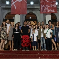 Competition Programme Short Film, Red Carpet, 19th Sarajevo Film Festival, 2013, © Obala Art Centar