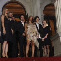 Crew of the film WOLF, Red Carpet, 19th Sarajevo Film Festival, 2013, © Obala Art Centar