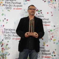 Festival Awards, Directors Arsen Oremović, MARRIED TO THE SWISS FRAN, 19th Sarajevo Film Festival, National Theater, 2013, © Obala Art Centar