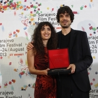 Festival Awards, Directors Nana Ekvtimishvili and Simon Groß, IN BLOOM, 19th Sarajevo Film Festival, National Theater, 2013, © Obala Art Centar