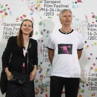 Festival Awards, Directors Ana Nedeljković and Nikola Majdak, RABITTLAND, 19th Sarajevo Film Festival, National Theater, 2013, © Obala Art Centar