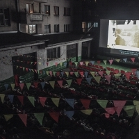 Screening of TIME IS ILLMATIC, Laško Summer Nights, Sarajevo Film Festival, 2014 (C) Obala Art Centar