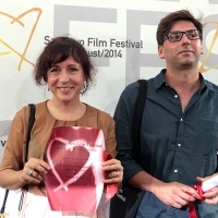 Petra Szőcs - Director of the film THE EXECUTION, Ivan Salatić - Director of the film SHELTERS - Special Jury Mention, Competition Programme - Short Film, Festival Awards, Sarajevo Film Festival, 2014 (C) Obala Art Centar