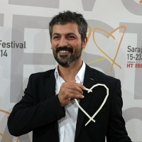 Feyyaz Duman - Actor of the film SONG OF MY MOTHER - Heart of Sarajevo for Best Actor Award, Festival Awards, Sarajevo Film Festival, 2014 (C) Obala Art Centar