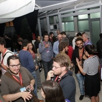 Georgian Film Centre Cocktail Reception, Hotel Bosnia - Umbrella Garden, Sarajevo Film Festival, 2014 (C) Obala Art Centar