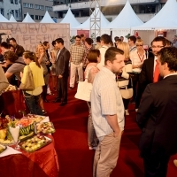 DISTI Cocktail Reception, Festival Square, Sarajevo Film Festival, 2014 (C) Obala Art Centar