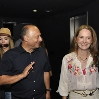 Mirsad Purivatra - Director of the Sarajevo Film Festival with Melissa Leo, Special screening of the film THE FIGHTER, Cinema City Multiplex, Sarajevo Film Festival, 2014 (C) Obala Art Centar