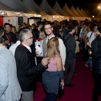 Gloria Magazine Welcomes Talents, Festival Square, Sarajevo Film Festival, 2014 (C) Obala Art Centar
