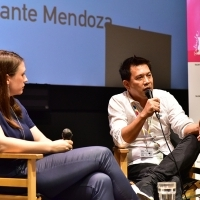 Conversation with the director of the film, Brillante Mendoza, moderated by Vanja Kaluđerčić, Short Films Programmer and Minimarket Manager, Talents Sarajevo 2015, 21. Sarajevo Film Festival, 2015 (C) Obala Art Centar