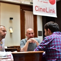 One on One meeting, Cinelink, Hotel Europe, 21. Sarajevo Film Festival, 2015 (C) Obala Art Centar