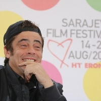 Benicio del Toro, A PERFECT DAY, Coffee with... Programme, Festival Square, 21. Sarajevo Film Festival, 2015 (C) Obala Art Centar