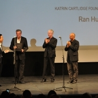 This year's recipient of the Katrin Cartlidge Foundation Bursary is Ran Huang, National Theatre, 21. Sarajevo Film Festival, 2015 (C) Obala Art Centar