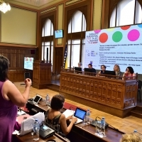 "Conference ""Women in today's film industry: gender issues. Can we do better?"", Sarajevo City Hall, 21st Sarajevo Film Festival, 2015 (C) Obala Art Centar"