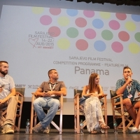 Competition Programme Press Conference PANAMA, National Theatre, 21. Sarajevo Film Festival, 2015 (C) Obala Art Centar
