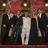 Cast and crew of the film SUPERWORLD, Competition Programme - Features, Red Carpet, National Theatre, 21. Sarajevo Film Festival, 2015 (C) Obala Art Centar