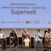 Competition Programme Press Conference SUPERWORLD, National Theatre, 21. Sarajevo Film Festival, 2015 (C) Obala Art Centar