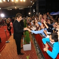 Benicio Del Toro, A PERFECT DAY, Open Air, Red Carpet, National Theatre, 21. Sarajevo Film Festival, 2015 (C) Obala Art Centar