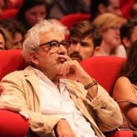Elia Suleiman, Doha Film Institute Artistic Advisor, at screening of ARARAT, by Atom Egoyan, Tribute To... Programme, Cinema Meeting Point, 21. Sarajevo Film Festival, 2015 (C) Obala Art Centar