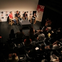 EVERYTHING YOU WANTED TO KNOW ABOUT SHORT FILM BUT WERE AFFRAID TO ASK Panel discussion, ASU Open Stage, Talents Sarajevo, 21. Sarajevo Film Festival, 2015 (C) Obala Art Centar