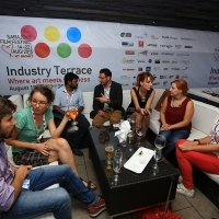 Industry Terrace Cocktail Party, Hotel Europe, 21. Sarajevo Film Festival, 2015 (C) Obala Art Centar