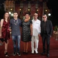 Cast and crew of the film THESE ARE THE RULES, Red Carpet, National Theatre, 21. Sarajevo Film Festival, 2015 (C) Obala Art Centar