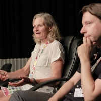 Introductory meeting for Talent scriptwriters with Jan Forsström and Olivia Hetreed - ASU-3b, Talents Sarajevo 2015, 21. Sarajevo Film Festival, 2015 (C) Obala Art Centar
