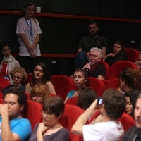 Tribute To Amat Escalante, SLAVE and HELI, Followed by Q&A with Amat Escalante, moderated by Nick James, editor of Sight & Sound, BFI Magazine, Tribute To Programme, Meeting Point Cinema, 22. Sarajevo Film Festival, 2016 (C) Obala Art Centar