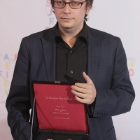 Mehmet Can Mertoğlu, ALBUM, HEART OF SARAJEVO FOR BEST FEATURE FILM, Photo Call, Festival Square, 21. Sarajevo Film Festival, 2015 (C) Obala Art Centar