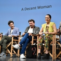 Cast and crew of the film A DECENT WOMAN, Competition Programme Preview Screening, National Theatre, 22. Sarajevo Film Festival, 2016 (C) Obala Art Centar