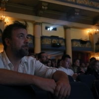 Competition Shorts Programme: Short Films SLOT 2 screening followed by Q&A, National theatre, 22. Sarajevo Film Festival, 2016 (C) Obala Art Centar