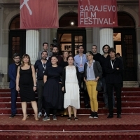 Competition Programme - Short Film, Red Carpet, National Theatre, 22. Sarajevo Film Festival, 2016 (C) Obala Art Centar