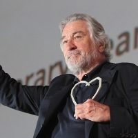 Robert De Niro Recieved the Honorary Heart of Sarajevo - Lifetime Achievement Award, Open Air Cinema, 22. Sarajevo Film Festival, 2016 (C) Obala Art Centar
