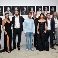 Cast and crew of the film THE BLACK PIN, Competition Program – Feature Film, Photo Call, National Theatre, 22. Sarajevo Film Festival, 2016 (C) Obala Art Centar