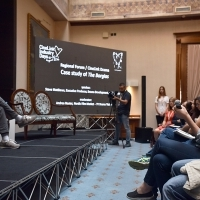 Regional Forum / CineLink Drama: Case Study of The Borgias, Hotel Europe Atrium, 22. Sarajevo Film Festival, 2016 (C) Obala Art Centar