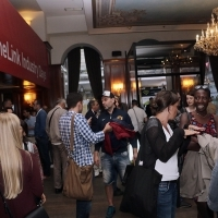 CineLink Industry Days drink hosted by HBO Adria, Hotel Europe, 22. Sarajevo Film Festival, 2016 (C) Obala Art Centar