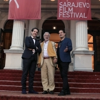 Pierre-Alexandre Moreau, Giacomo Martini and Erdmann Lange, CICAE Jury members, Red Carpet, National theatre, 22. Sarajevo Film Festival, 2016 (C) Obala Art Centar