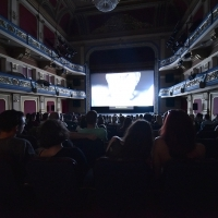 Screening of the film INTERRUPTION followed by Q&A, In Focus, National Theatre, 22. Sarajevo Film Festival, 2016 (C) Obala Art Centar
