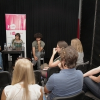 ALBUM: CHALLENGES OF A FIRST FEATURE with Čedomir Kolar, Yoel Meranda, Amra Bakšić Čamo, ASU 3b, Talents Sarajevo, 22. Sarajevo Film Festival, 2016 (C) Obala Art Centar