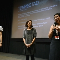 Screening of the film TEMPESTAD, Kinoscope, Meeting Point Cinema, 22. Sarajevo Film Festival, 2016 (C) Obala Art Centar