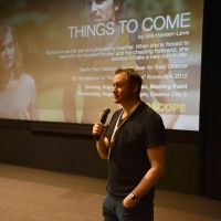 Mike Goodridge, former journalist and CEO of London-based Protagonist Pictures, THE THINGS TO COME, Kinoscope, Cinema Meeting Point, 22nd Sarajevo Film Festival, 2016 (C) Obala Art Centar