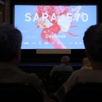Screening of DAYBREAK, HEART OF SARAJEVO FOR BEST ACTRESS, National Theatre, 23. Sarajevo Film Festival, 2017 (C) Obala Art Centar